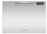 "DD24SCTX9 24"" Fisher & Paykel Full Console Single Tall Drawer Dishwasher with Child Lock and 2 Cutlery Basket - Stainless Steel"