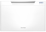 DD24SCW7 Fisher & Paykel Single DishDrawer with Recessed Handle - White