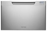 DD24SCX7 Fisher & Paykel Single DishDrawer with Recessed Handle - Stainless Steel