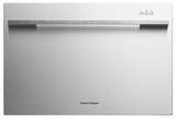 DD24SDFX7 Fisher & Paykel Single DishDrawer with Flat Door and Straight Handle - Stainless Steel