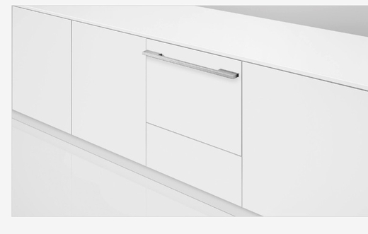 DD24SHTI7 Fisher & Paykel Single Tall DishDrawer with Water Softener - Custom Panel