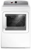 "DE7027P2 Fisher & Paykel 27"" AeroCare Electric Dryer with SmartTouch Dial and Steam Cycles - White"