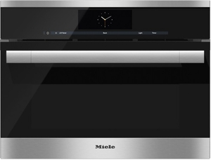 Dgc6705 1xl Miele Combi Steam Single 24 Quot Wide Plumbed Oven