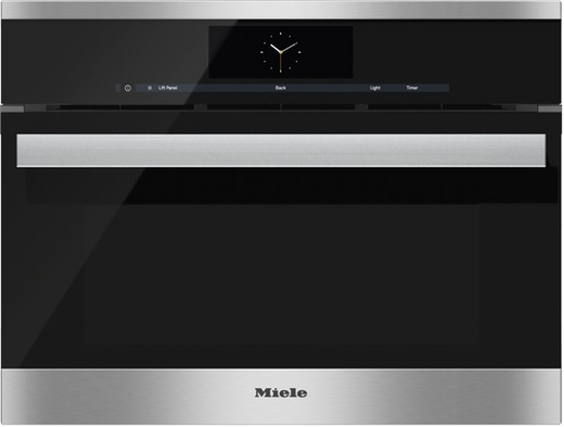 Dgc6805 1xl Miele Combi Steam Single 24 Quot Wide Plumbed Oven