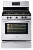 DGGF3042KF Frigidaire Gallery Series 30'' Freestanding Gas Range with Black Porcelain Cooktop - Smudge-Proof Stainless Steel