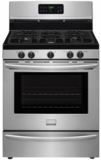 "DGGF3045RF Frigidaire 30"" Stainless Steel Freestanding Gas Range with 5.0 CuFt Self-Cleaning Oven - Stainless Steel"
