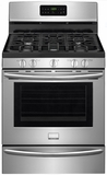 "DGGF3046RF Frigidaire Gallery Series 30"" Freestanding Gas Range with 5.0 cu. ft. Oven Capacity and CustomFlex Cooktop - Stainless Steel"