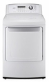 DLE4901W LG 7.3 Cu Ft Electric Dryer - White