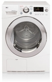 DLEC855W - LG 4.2 Cu. Ft. Compact Capacity Electric Ventless Dryer - White