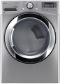 DLGX3371V LG 7.4 Cu. Ft. Ultra Large Capacity Steam Gas Dryer with NFC Tag On Technology - Stainless Steel