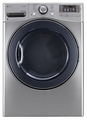 DLEX3570V LG 7.4 cu. ft. Electric Steam Dryer - Graphite Steel