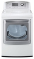 DLEX5170W LG 7.3 Cu. Ft. Ultra Large Capacity Electric Steam Dryer - White