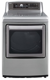 DLEX5780VE LG 7.3 Cu. Ft. Ultra Large Steamdryer with EasyLoad Door - Graphite Steel