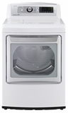 DLEX5780WE LG 7.3 Cu. Ft. Ultra Large Steamdryer with EasyLoad Door - White