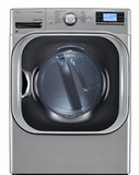 DLEX8500V LG Mega Capacity High Efficiency SteamDryer - Graphite Steel