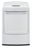 DLG1102W LG 7.3 cu. ft. Ultra Large Capacity Dryer with Sleek Contemporary Design (Gas) - White