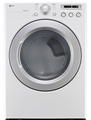 DLG3051W LG 7.3 Cu Ft Gas Dryer - White