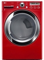 DLGX3251R LG 7.3 Cu. Ft. Large Capacity Steam Dryer with Sensor Dry - Red
