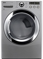 DLGX3251V LG 7.3 Cu. Ft. Large Capacity Gas Steamdryer with Sensor Dry - Graphite Steel