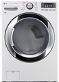 DLGX3371W LG 7.4 Cu. Ft. Ultra Large Capacity Steam Gas Dryer with NFC Tag On Technology - White