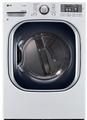 DLGX4271W LG 7.4 Cu. Ft. Ultra Large Capacity Steam Gas Dryer with NFC Tag On Technology - White