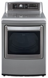 DLGX5681V LG 7.3 Cu. Ft. Ultra Large Capacity High Efficiency Gas Steam Dryer - Graphite Steel