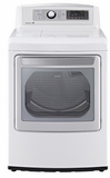 DLGX5681W LG 7.3 Cu. Ft. Ultra Large Capacity High Efficiency Gas Steam Dryer - White