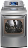 DLGX6002V LG 7.3 cu. ft. Ultra Large Capacity SteamDryer with Smart ThinQ Technology (Gas) - Graphite Steel