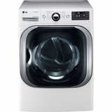 DLGX8001W LG 9.0 Cu. Ft. Mega Capacity Gas Dryer with Steam Technology - White