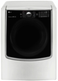 """DLGX9001W LG 29"""" 9.0 cu. ft. Gas Dryer with 14 Dry Cycles and 5 Temperature Selections - White"""