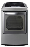 DLGY1202V LG 7.3 cu. ft. Ultra Large Capacity Dryer with Front Control Design and SteamFresh Cycle - Graphite Steel