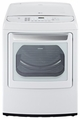 DLGY1702W LG 7.3 Cu. Ft. Ultra Large Capacity Front Contol Top Load Gas Dryer with Steamfresh - White