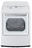 DLGY1702WE LG Ultra Large Capacity High Efficiency Front Control SteamDryer w/ EasyLoad Door - White