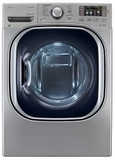 DLHX4072V LG 7.3 Cu. Ft. Electric Dryer with EcoHybrid Technology - Graphite Steel