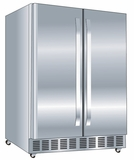 "DOBC7070SSST Danby Silhouette 24"" 5.3 cu.ft. Outdoor Rated French Door Beverage Center - Stainless Steel"