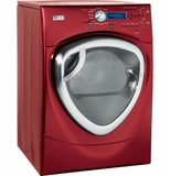 DPVH880EJMV GE Profile 7.5 Cu. Ft.Colossal Capacity Electric Dryer - Red