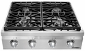"DRT304SLP Dacor Distinctive 30"" Gas Rangetop - Liquid Propane - Stainless Steel"