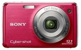 DSCW230R Samsung CyberShot 12.1 MegaPixel Digital Camera - Red