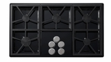 "DTCT365GBLP Dacor Distinctive 36"" Gas Cooktop with 5 Burners Liquid Propane - Black"