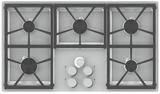"DTCT365GSLP Dacor Distinctive 36"" Gas Cooktop with 5 Burners Liquid Propane - Stainless Steel"