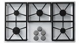 "DTCT365GWLP Dacor Distinctive 36"" Gas Cooktop with 5 Burners Liquid Propane - White"