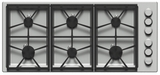 "DTCT466GBLP Dacor Distinctive 46"" Gas Cooktop with 6 Burners Liquid Propane - Black"