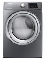 DV42H5200GP Samsung 7.5 cu. ft. Capacity Gas Front Load Dryer - Platinum