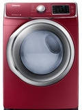 DV42H5400GF Samsung 7.5 cu. ft. Capacity Gas  Dryer - Merlot