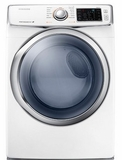 DV42H5400GW Samsung 7.5 cu. ft. Capacity Gas Front Load Dryer - White