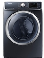 DV45H6300GG Samsung 7.5 cu. ft. Capacity Gas Front Load Dryer - Onyx