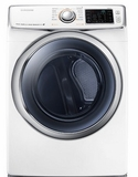 DV45H6300GW Samsung 7.5 cu. ft. Capacity Gas Front Load Dryer - White