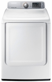 DV45H7000GW Samsung 7.4 cu. ft. Capacity Gas Front Load Dryer with Sensor Dry - White