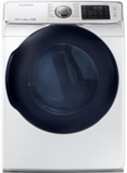 "DV45K6500GW Samsung 27"" Gas Front-Load Dryer with 7.5 cu. ft. Capacity and 14 Dry Cycles - White"