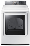 DV48H7400GW Samsung 7.4 cu. ft. Capacity Gas Front Load Dryer with Stream Dry - White